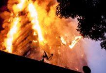 آتشسوزی در نورث ونکوور
